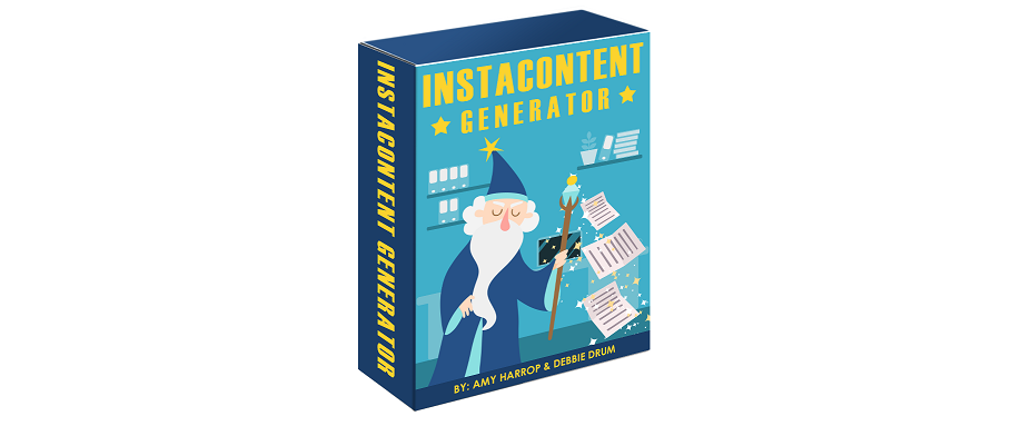 InstaContent Generator Review - Create, Publish, and Profit...In About 10 Minutes