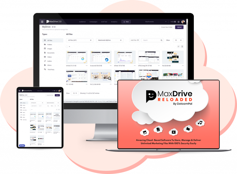 MaxDrive Reloaded Review – Give Your Website a Lightning Loading Speed!