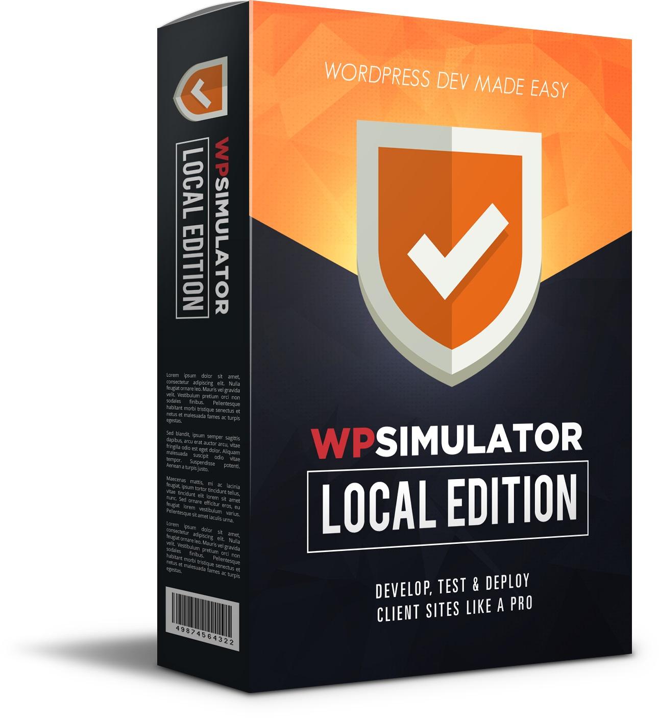 WP Simulator local Review