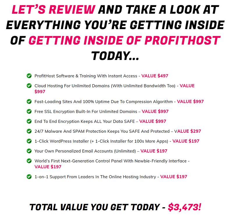 ProfitHost Price