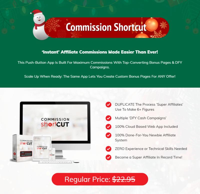 1. Commission Shortcut