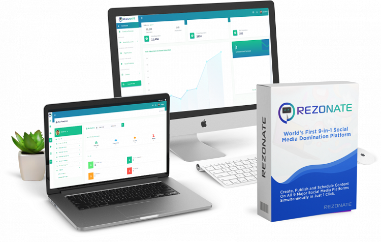 Rezonate Review – World's First 9-in-1 Social Media Domination Platform