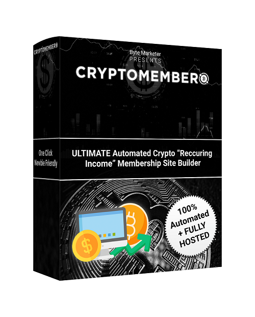 CryptoMember Review – Set Up Your Profitable Crypto Site In Seconds!