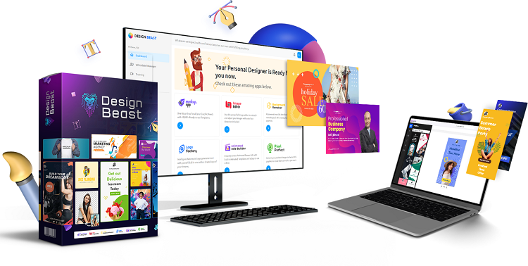 DesignBeast Review – Powerful 6-in-1 Design & Animation Suite
