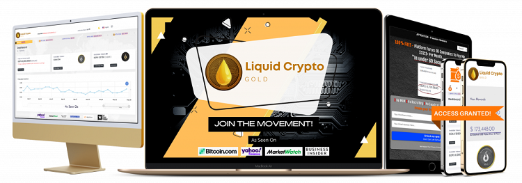 Liquid Crypto Gold Review – Get Daily Crypto And Cash With Ease